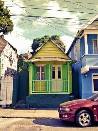 Dominica grünes Haus