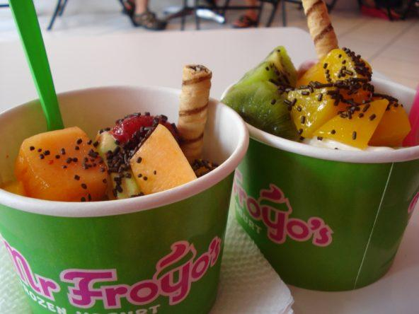 Karibischer Frozen Yogurt