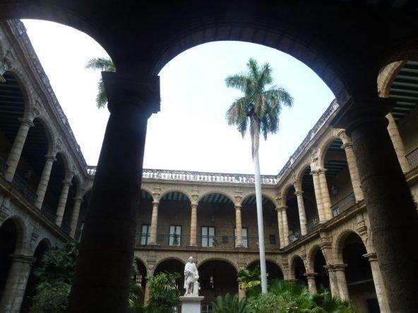 Palacio de los Capitanes Generales in Havanna