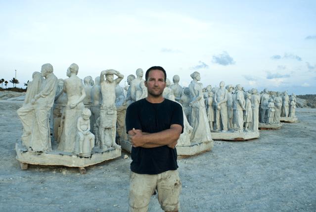 Der Eco-Künstler Jason deCaires Taylor schafft wunderbare Skulpturen auf dem Meeresgrund