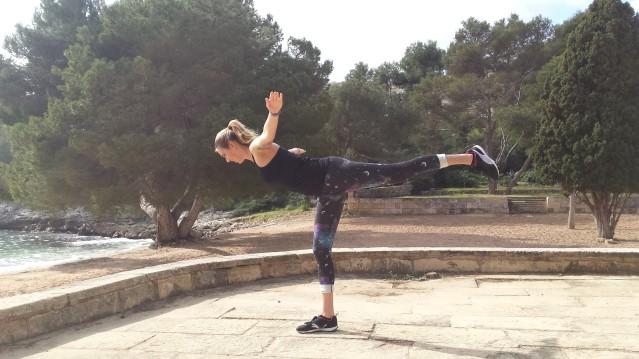 Fitnessübungen im PURAVIDA Resort auf Mallorca