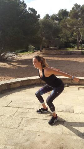 Fitnessübungen im PURAVIDA  Resort Blau Porto Petro