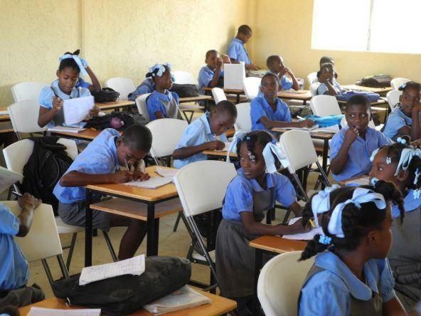 Schulkinder Haiti
