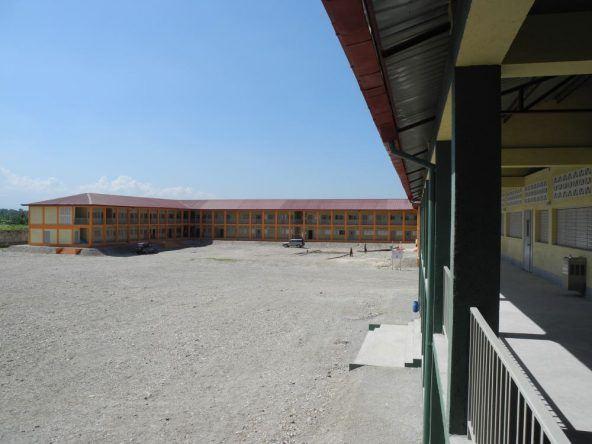 Neue Schule auf Haiti