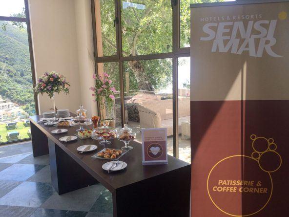 Coffee Corner Sensimar Grand Mediterraneo Resort Spa