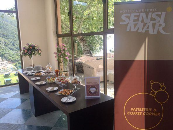 Coffee Corner Sensimar Grand Mediterraneo Resort Spa