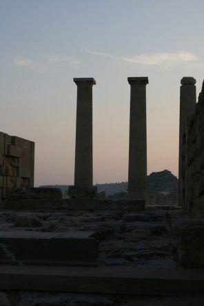 Akropolis Lindos auf Rhodos