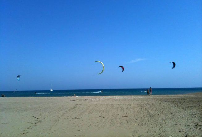 Prasonisi Beach auf Rhodos