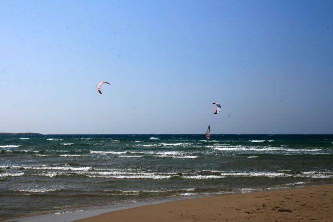 Strand von Prasonisi (Rhodos)