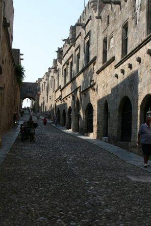 Gasse in Rhodos-Stadt