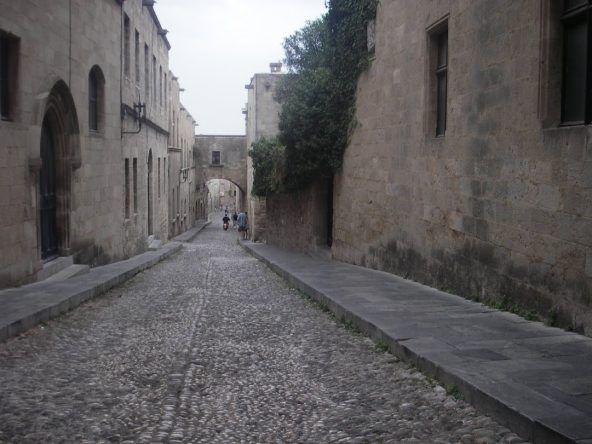 Gasse in Rhodos Stadt