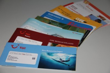 TUI Reisunterlagen