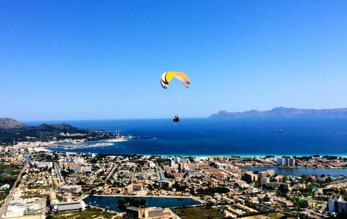Dominic Boeer Paragliding Mallorca
