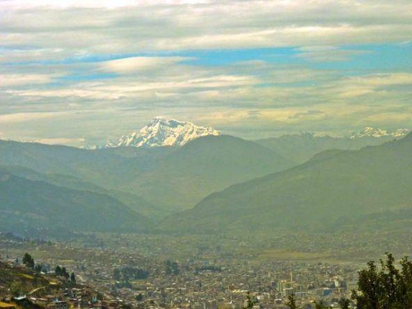 Ausblick auf die Anden