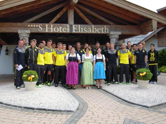BVB Trainingslager 2014 in Tirol
