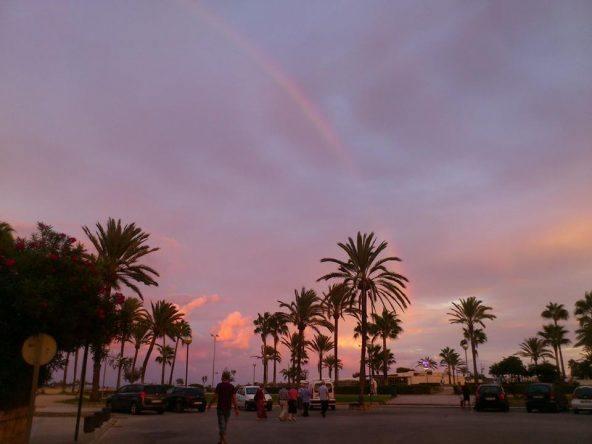 Sonnenuntergang in Cala Millor auf Mallorca