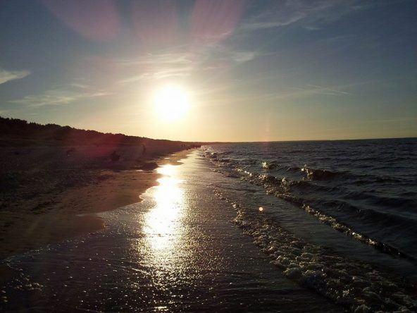 Sonnenuntergang Insel Usedom