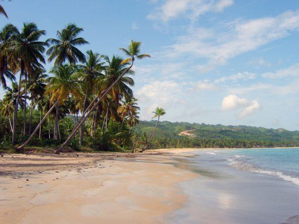 Strand Halbinsel Samana Dom Rep
