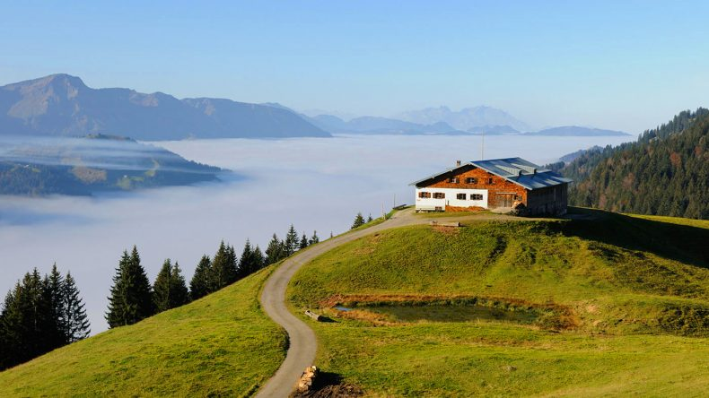 In schönster Natur Bayerns: Das Hubertus Alpin Lodge & Spa
