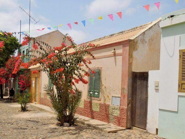 Häuser Kapverden-Insel Boa Vista