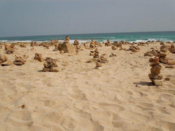Steintürme Kapverden