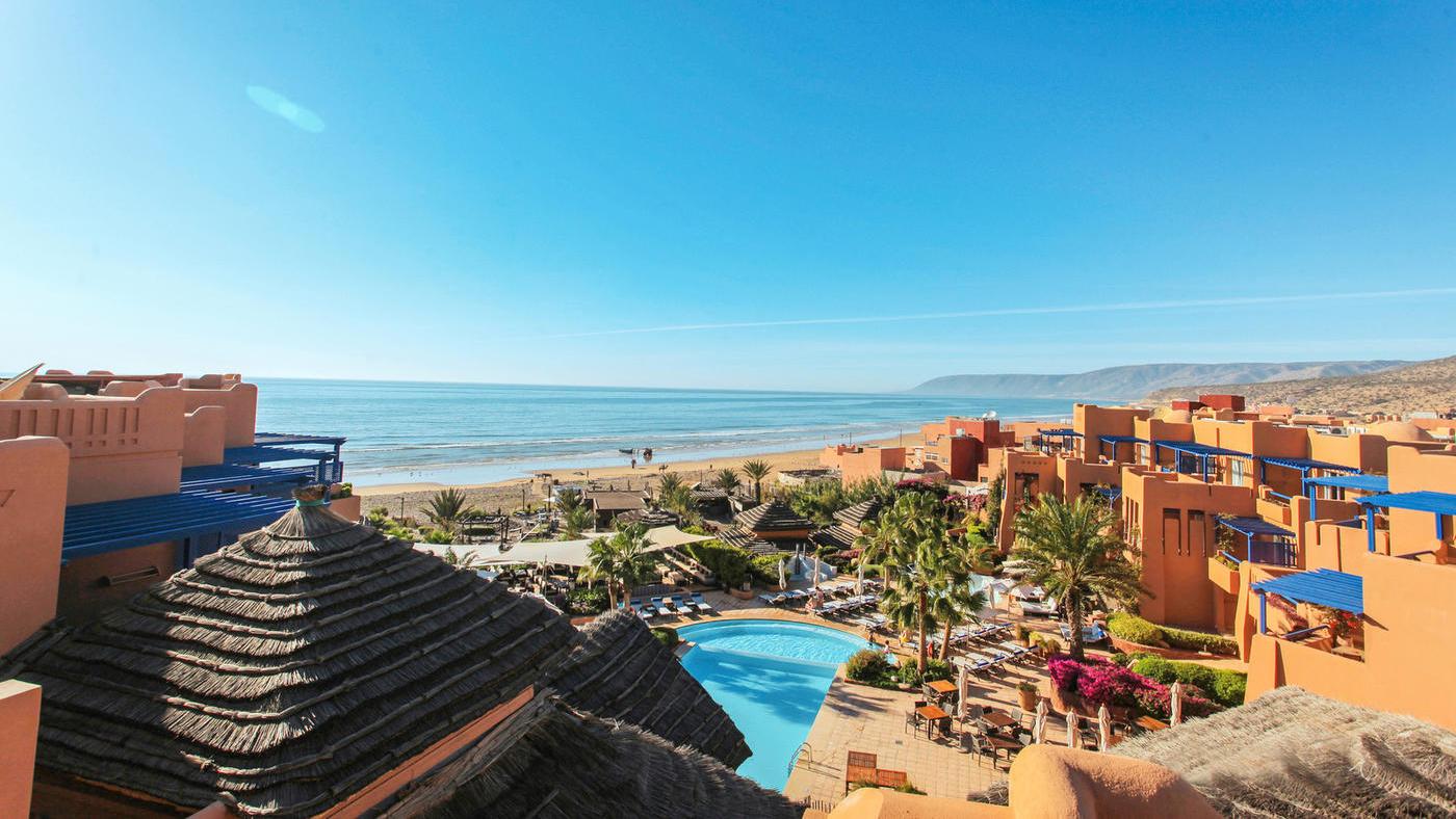 Yoga und Surfurlaub im Paradis Plage Resort