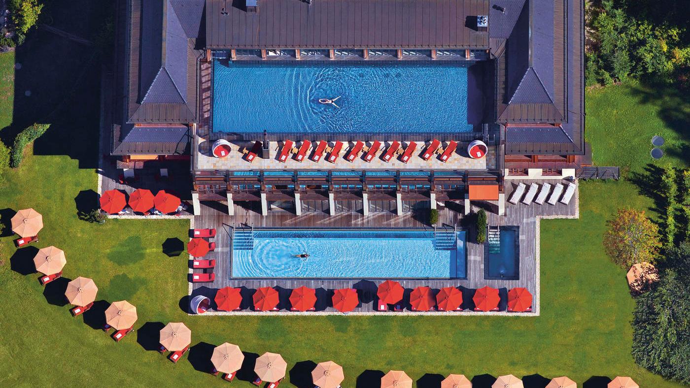 Das Schloss Elmau Luxury Spa Retreat & Cultural Hideaway ist ein wahrer Wellnesstraum
