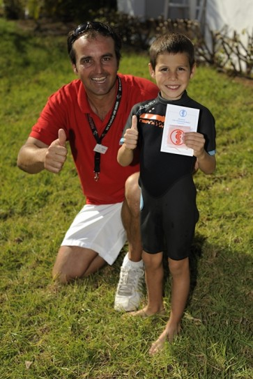 Mit der Schwimmschule Sharky im Urlaub schwimmen lernen