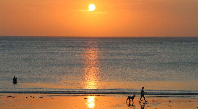 Balinesischer Sonnenuntergang