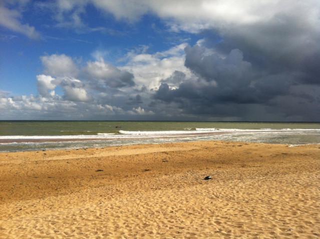 Strand La Tranche sur Mer in Frankreich