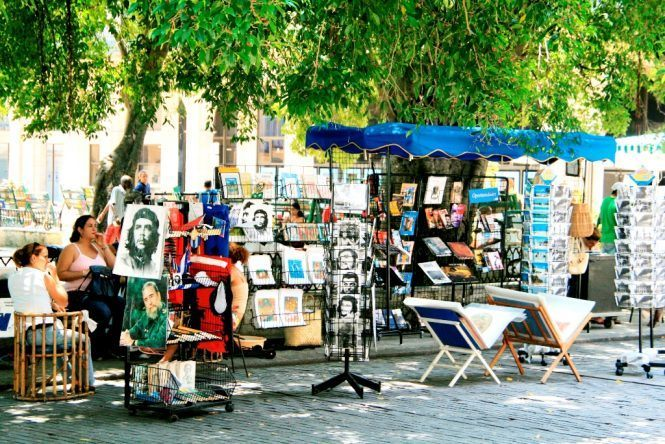 Markt in der Altstadt