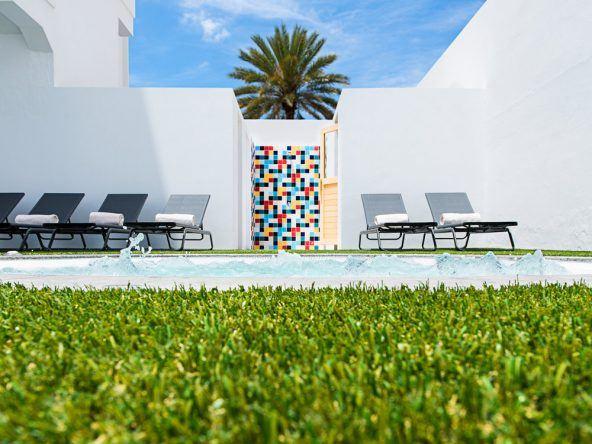 Stylisch, kosmopolitisch und mit hohem Wohlfühlfaktor überzeugt das Axelbeach Hotel in Maspalomas, Gran Canaria