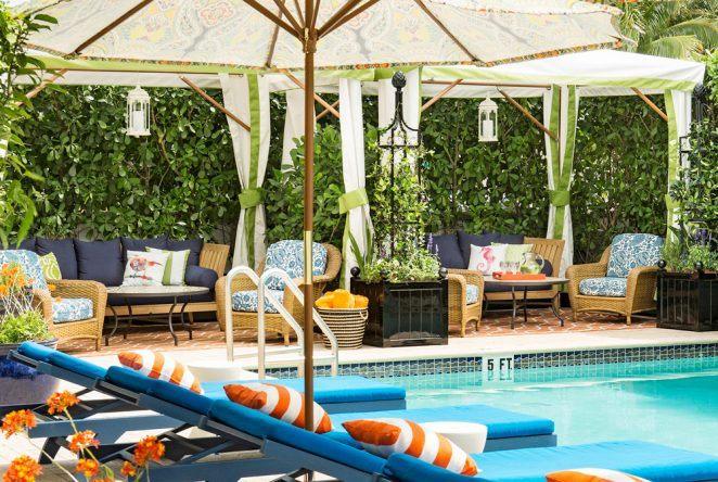 Das Circa 39 Hotel in Miami Beach besticht durch Gemütlichkeit und stilvolle Einrichtung. Und der kilometerlange feine Sandstrand ist auch nicht weit entfernt ...