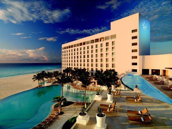 Das Le Blanc Spa Resort ist eine Oase direkt am Strand von Cancun, Mexiko. Allein der Blick auf das Meer lohnt den Besuch