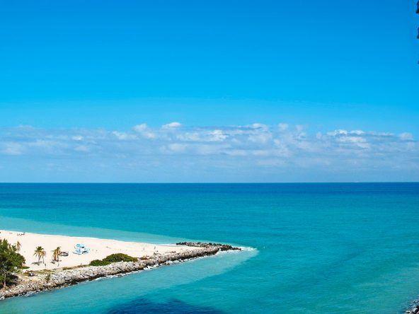 Am Strand von Miami gilt: Sehen und gesehen werden