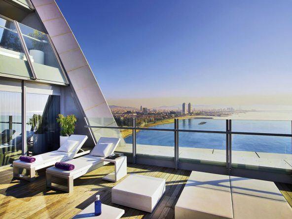 Traumblick über die Traumstadt - das W in Barcelona
