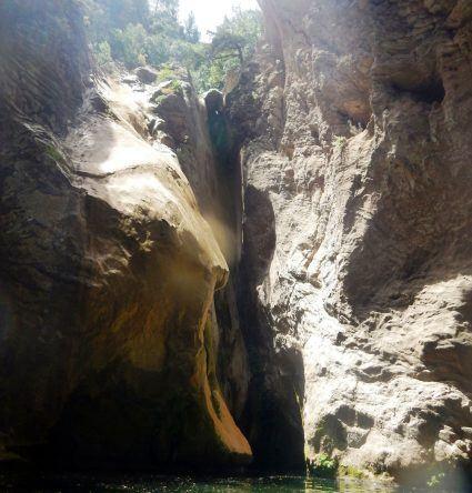 Canyoning Loryma