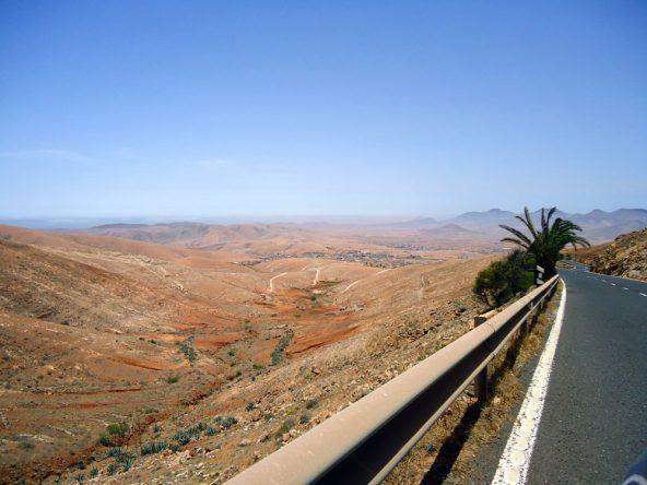 Straße nach Betancuria