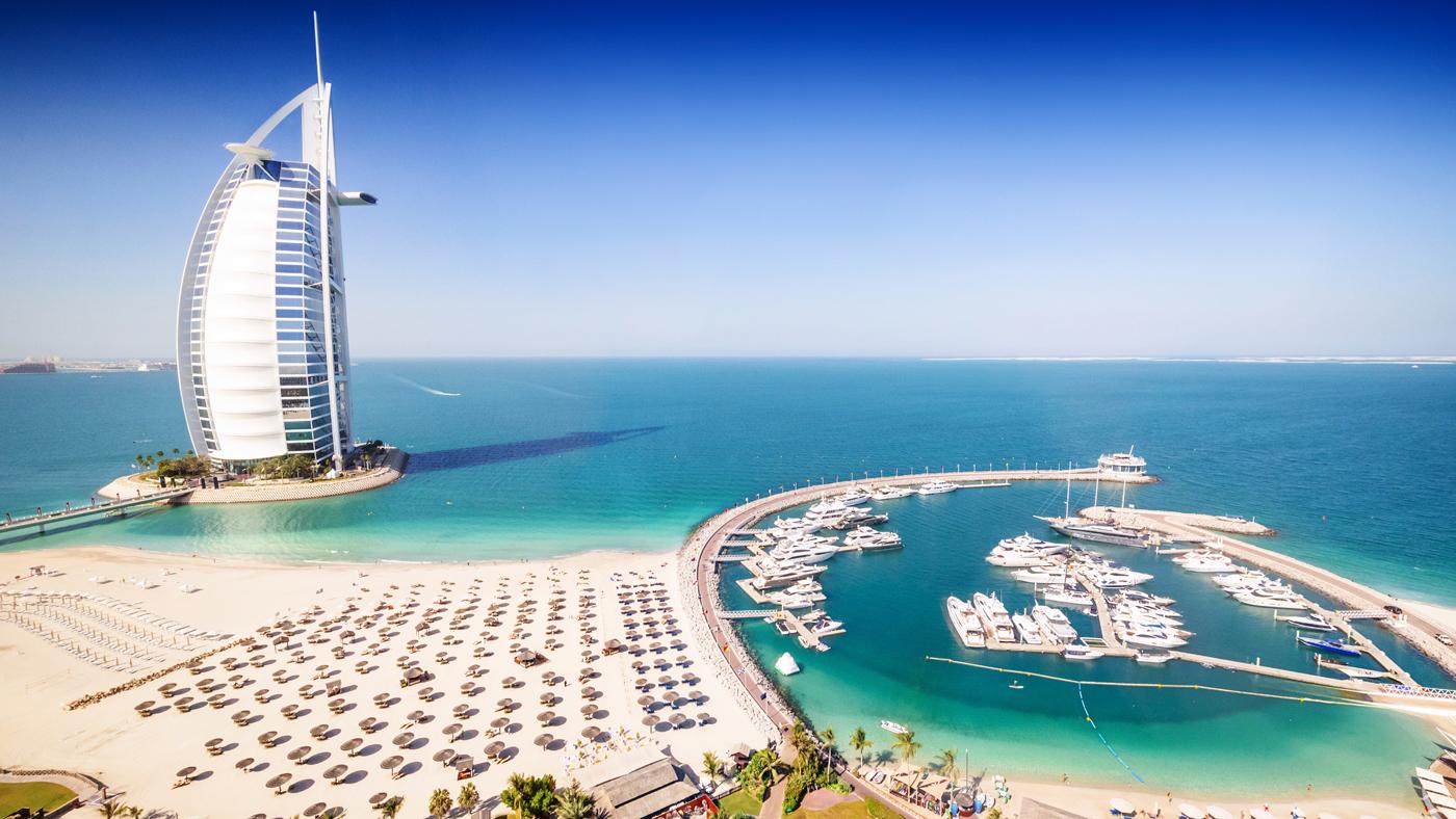 Zu jeder Jahreszeit warm: Dubai