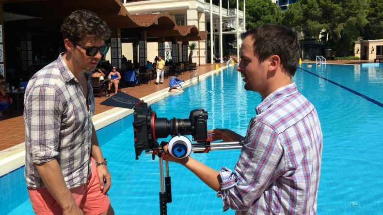 Sebastian und die Kamera