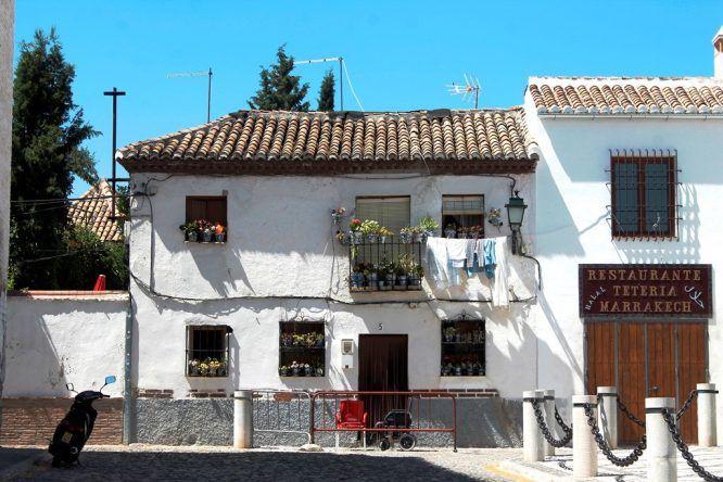 Ein typisches Haus in Albaicin