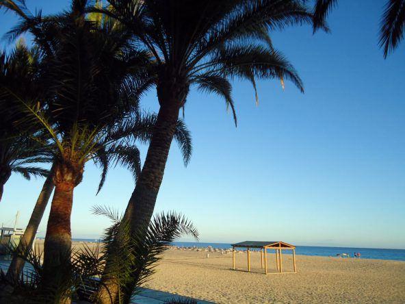 Strand in Morro Jable