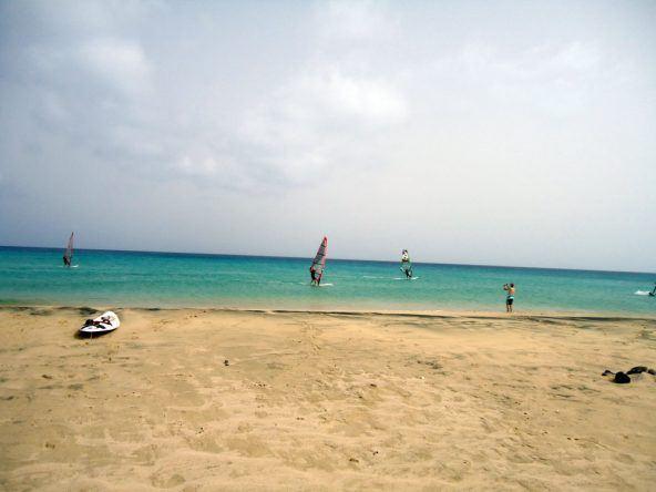 Surfer Strand Fuerteventura