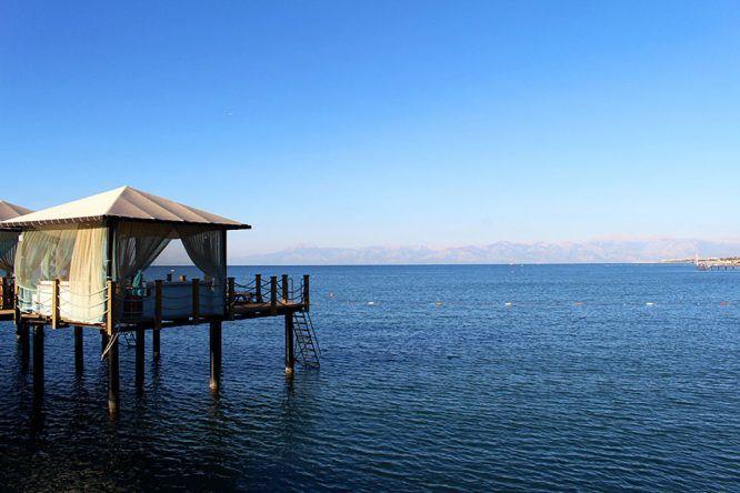 Traumstrand an der türkischen Riviera