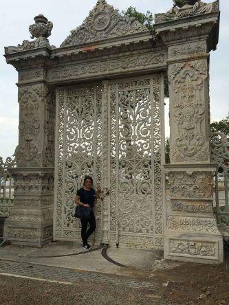 Tür zum Kücüksu Palast