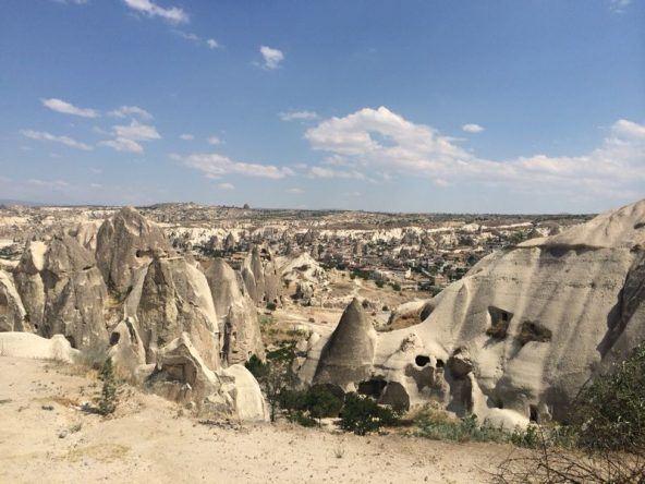 Beeindruckende Felsen in Kappadokien