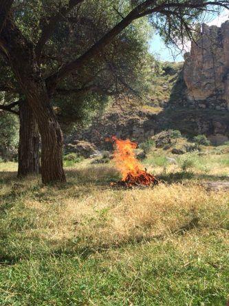 Ein kleines Lagerfeuer