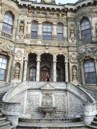 Eingang des Kücüksu Palast