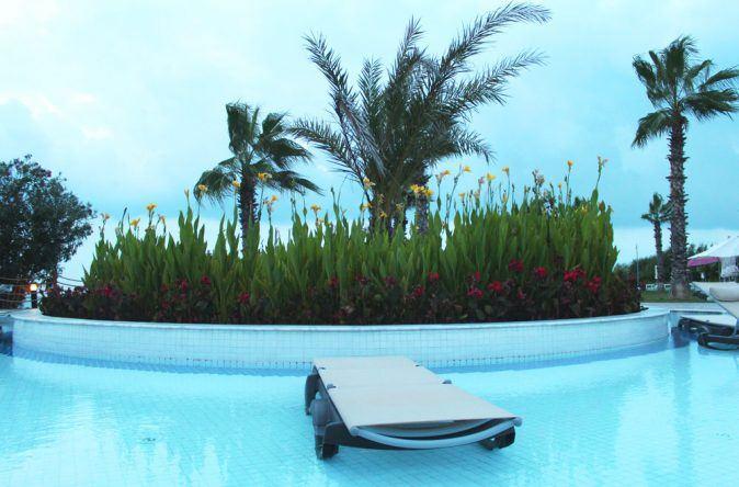 Aussicht vom Pool im RIU Kaya Belek