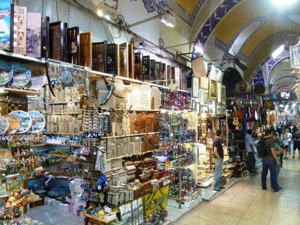Shoppen im Grand Bazaar